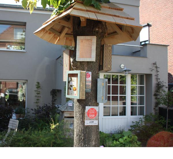 arbre à livres Profonsart